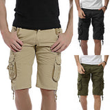 Menss Casual Pocket Beach Work Casual Men Short Trouser Shorts Pants