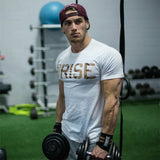 Male Joggers Gyms Fitness Bodybuilding Workout Crossfit Brand Tees Tops