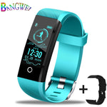 BANGWEI New Smart Watch Men Blood Pressure Heart Rate Monitor Fitness Tracker Women Smartwatch Sport Watch for ios Android+Box