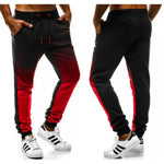 Mens Sweatpants Korean Gradient Long Pants
