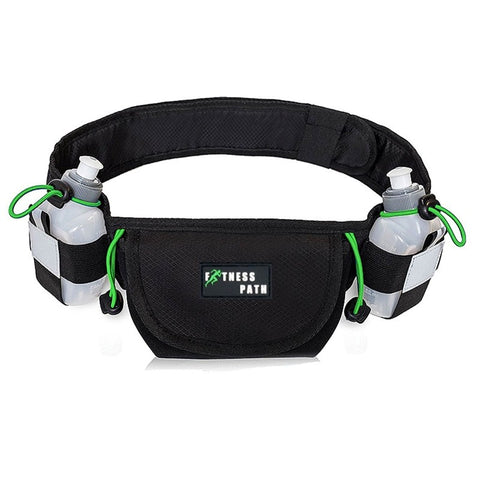 Unisex  Waist Bag Pack Water Resistant Fitness  Multifunctional Kettle Belt Bag