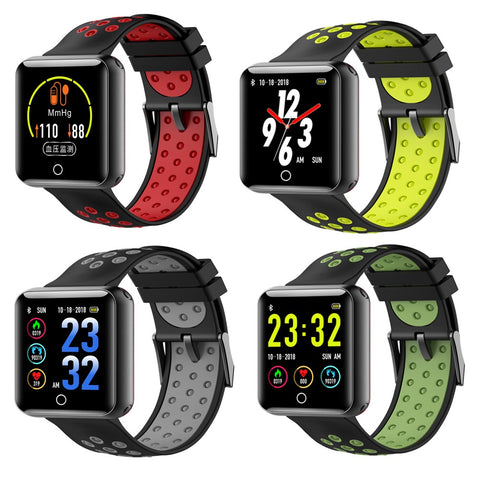 Q18 Sport Fitness Tracker Smart Watch Heart Rate Blood Pressure Monitor Activity Tracker Fitness Wristwatch