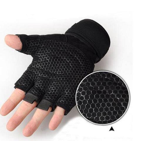 Gym, Weight Lifting, Training Sport Fitness Gloves