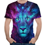 Fashion Mens Splash-ink 3D Printed Short Sleeve T-Shirt