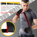 Unisex Gym Gloves With Wrist Wrap Support For Weight Lifting/Workout/Fitness