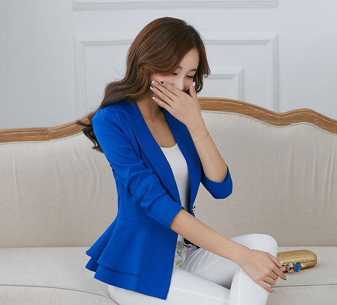 Spring Fashion work Wear Women Blazer