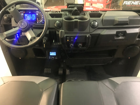 Drive Unlimited 2018 Polaris Ranger XP1000 Stereo System Installed
