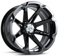 Motosport Alloys M12 Diesel ATV Wheels