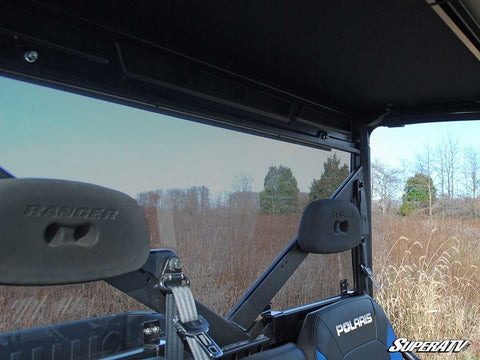 SuperATV Polaris Ranger 1000 Diesel Rear Windshields