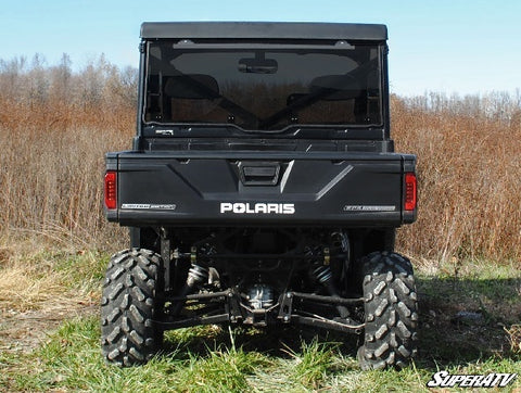 SuperATV Polaris Ranger XP 1000 Rear Windshields Tinted