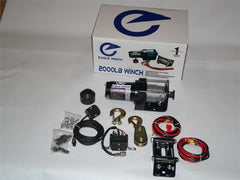 Eagle 2000 Wire Cable ATV Winch