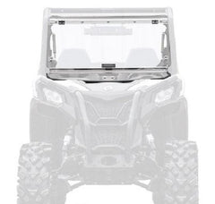 SuperATV Can Am Maverick Trail Flip Up Full Windshield