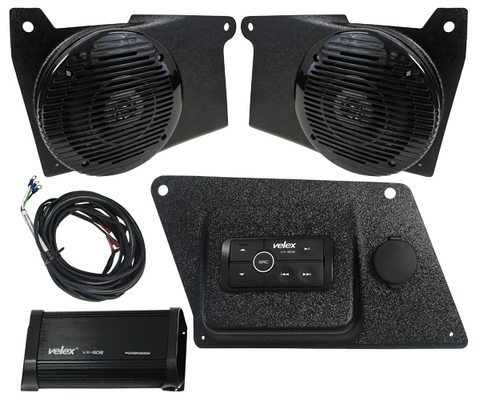 Drive Unlimited 2018 Polaris Ranger XP 1000 Lower Dash Stereo System