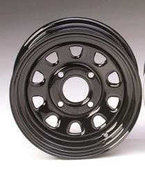 ITP Delta Black Steel ATV Wheels