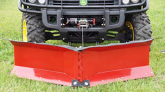Eagle 66 Inch V-Blade Snow Plow Kits for UTV SxS Models
