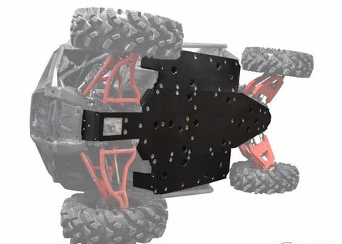SuperATV Polaris RZR 900 UHMW Full Skid Plate Kit