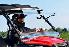 SuperATV Honda Pioneer 500 Scratch Resistant Flip Windshield