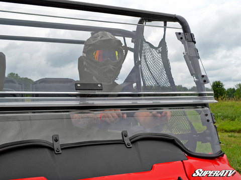SuperATV Honda Pioneer 700 Flip Windshield