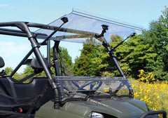 SuperATV Polaris Ranger 800 Flip Windshield