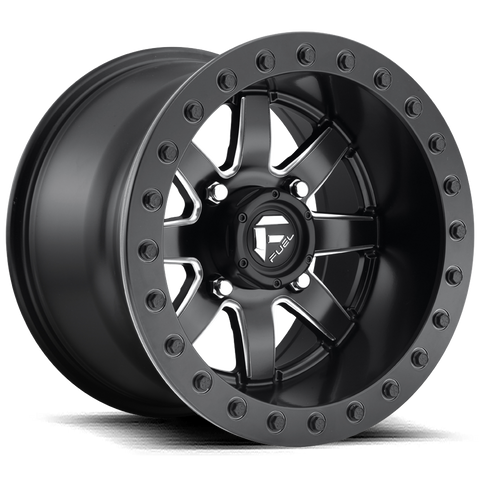 Fuel D928 Maverick ATV Beadlock Wheels 14x7 14x10 Rims