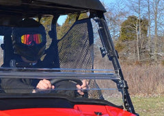 SuperATV Honda Pioneer 1000 Scratch Resistant Flip Windshield