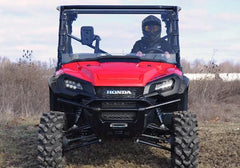 SuperATV Honda Pioneer 1000 Scratch Resistant Full Windshield