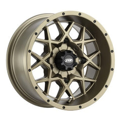 ITP Hurricane Bronze ATV UTV Wheels - 14x7 Inch Rims
