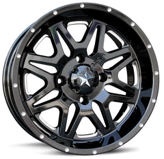 Motosport Alloys M26 Vibe Milled ATV Wheels