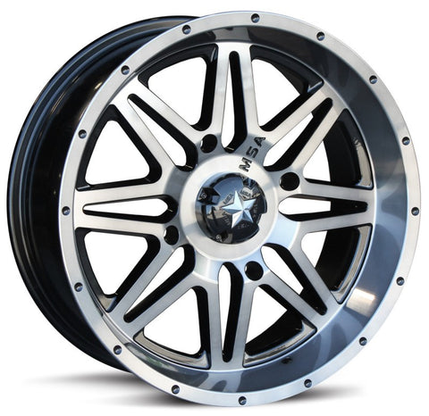 Motosport Alloys M26 Vibe Dark Tint ATV Wheels