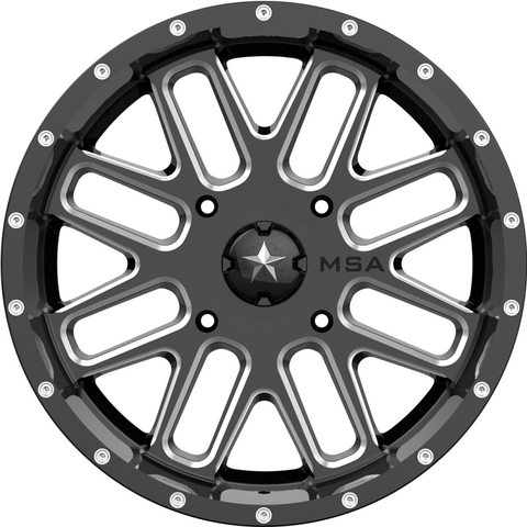 Motosport Alloys M35 Bandit UTV Wheels 18, 20, 22 Inch Rims