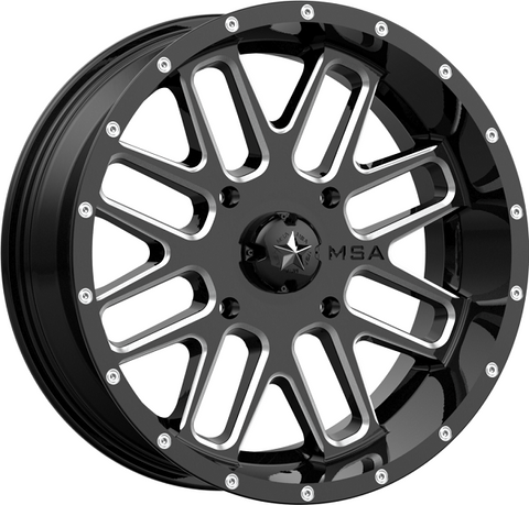Motosport Alloys M35 Bandit UTV Wheels
