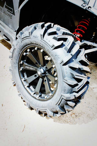 "EFX MotoMTC 28, 30, 32"" Tire Wheel Kits Mounted"