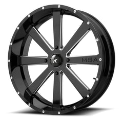Motosport Alloys M34 Flash UTV Wheels - 18, 20, 22, 24 Inch Rims
