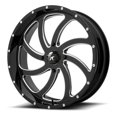 Motosport Alloys M36 Switch Black UTV Wheels