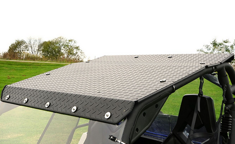 Over Armour Can Am Commander Diamond Plate Aluminum Roof Top
