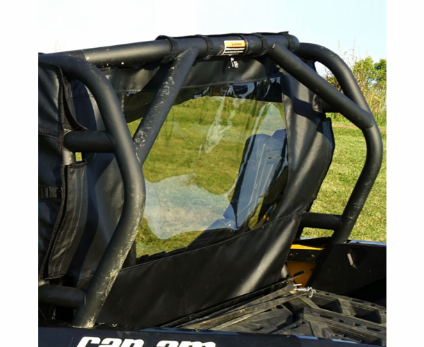 Over Armour Can Am Commander Rear Windshield - CA-1000-RW01