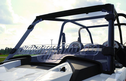 Falcon Ridge Aero Vent Windshield 2019+ Polaris RZR XP Turbo