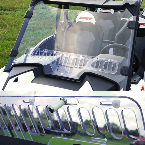 Over Armour Aero Vent Windshield - 2019+ Polaris RZR XP1000