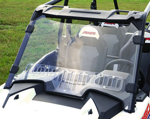 Over Armour Aero Vent Windshield 2019+ Polaris RZR XP 1000