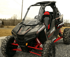 Over Armour Vented Front Windshield Polaris RZR RS1