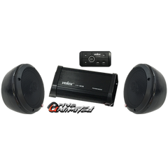 Drive Unlimited Odes Dominator X2 Stereo System W/Bluetooth Amp