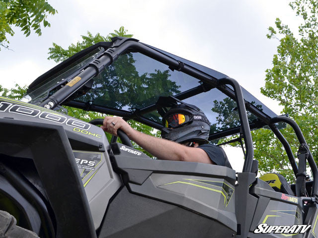 SuperATV Polaris RZR XP Turbo 4 Seater Tinted Roof Tops