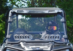 SuperATV Polaris RZR 1000-S Vented Full Windshield