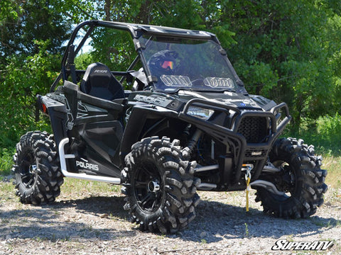 SuperATV Polaris RZR XP Turbo Vented Full Windshield