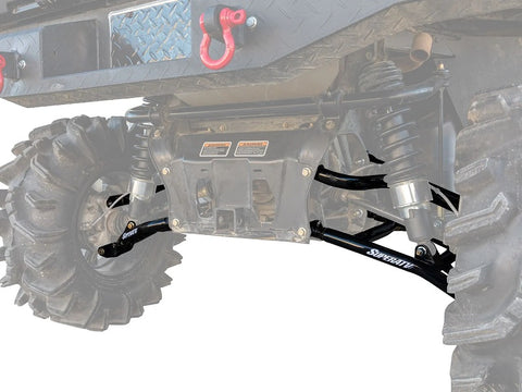 SuperATV Can Am Defender High Clearance Lower 2 Inch Rear Offset A Arms