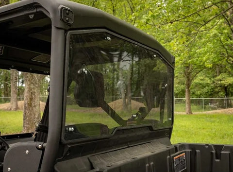 SuperATV Can Am Defender Rear Light Tinted Windshield