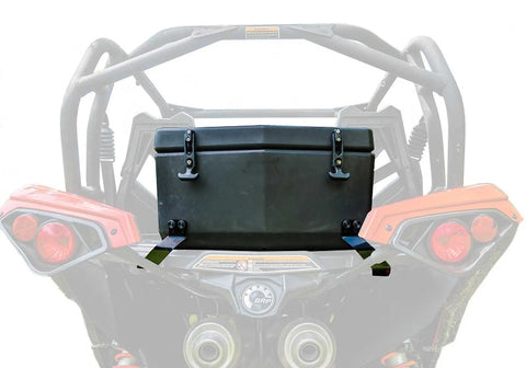 SuperATV Can Am Maverick Rear Cooler Box