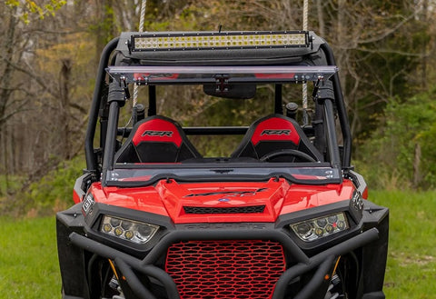 SuperATV 2015+ Polaris RZR 900 S Flip Windshield