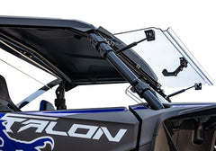 SuperATV Honda Talon 1000 Flip Up Full Windshield