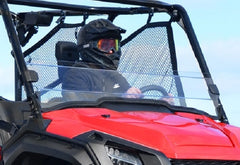 SuperATV Honda Pioneer 1000 Half Windshield Clear